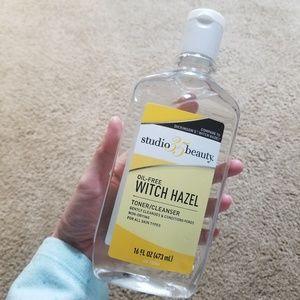 Oil-free Witch Hazel Toner